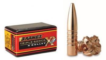 弾頭 Barnes バーンズ TSX TRIPLE SHOCK X トリプルショックX 50個入り 銅製
