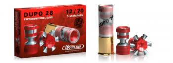 散弾実包 デュプレックス デュポDUPO28 12番 非鉛 20発
