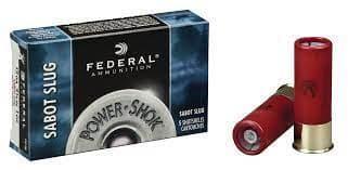 散弾実包 フェデラル 12番 サボットスラッグ 2 3/4 鉛 10発 F127SS2