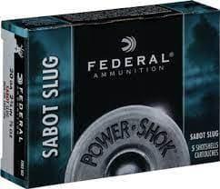 散弾実包 フェデラル 20番 サボットスラッグ 2 3/4 鉛 10発 F203SS2