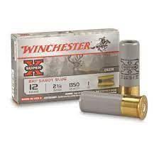 散弾実包 ウィンチェスター 12番 サボットスラッグ XRS12 2 3/4 鉛 10発 XRS12