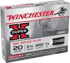 散弾実包 ウィンチェスター 20番 サボットスラッグ XRS20 2 3/4 鉛 10発 XRS12