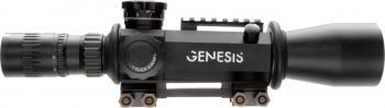 ライフルスコープ March GENESIS 4x-40x52mm D40V52GFIML Tactical Model with Illumination module 0.05 MIL Type