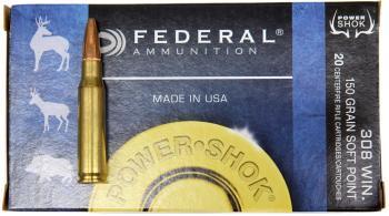 ライフル実包 FEDERAL フェデラル 243 100 243B SP 20発入り