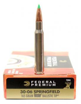 ライフル実包 FEDERAL フェデラル 30-06 165 P3006Q 20発入り