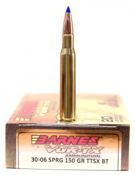 ライフル実包(銅) BARNES バーンズ 30-06 150 TTSX 20発入り