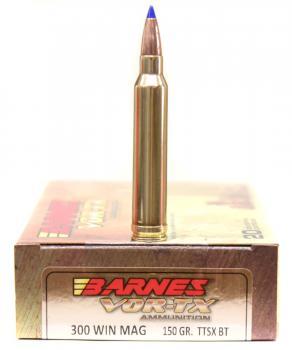 ライフル実包(銅) BARNES バーンズ 300WinMag 150 TTSX 20発入り