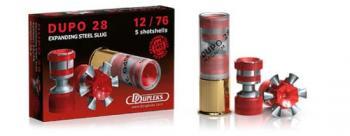 散弾実包 デュプレックス デュポDUPO28 12番 3インチ 非鉛 20発