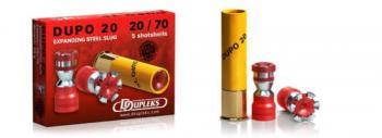 散弾実包 デュプレックス デュポDUPO20 20番 2 3/4インチ 非鉛 20発
