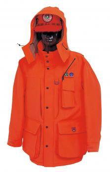 H-4170 実猟F型ハンターコート 蛍光オレンジ