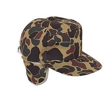 カモフラージュ柄実帽子 H-5130