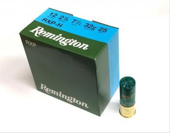 クレー射撃 散弾実包 Remington RXP-H 12番 32g 7.5号