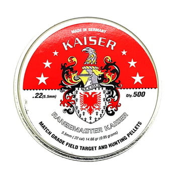 空気銃弾 RANGEMASTER KAISER 5.5mm 14.66gr