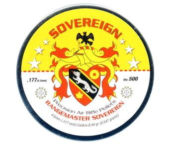 RangeMaster Sovereign 4.5mm 8.44gr 500入