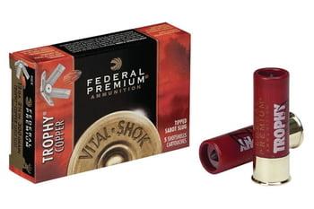 散弾実包 フェデラル 12番 サボットスラッグ 2 3/4 銅弾