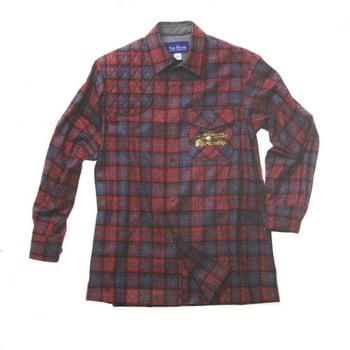 ハンティング ウールハンティングシャツ グレー THS01